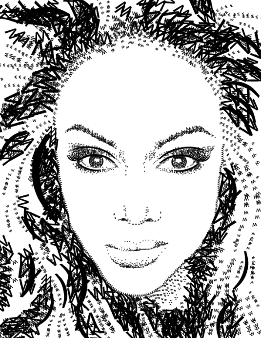 Tyra Banks by Keats Haupt