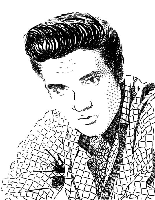 Elvis Presley by Tori Holmes
