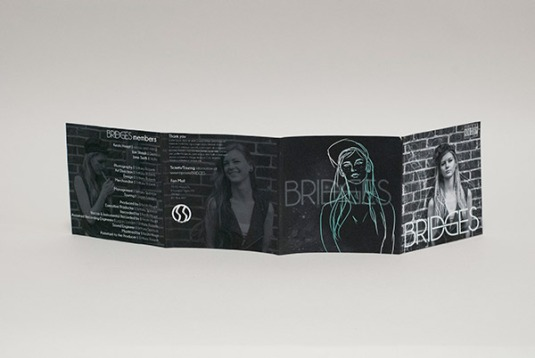 OUTER FOLDOUT by Brittany Roberts // based on Keats Haupt