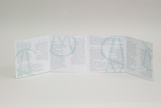 INNER FOLDOUT by Kelsey Bishop // based on Marianna Myrick